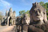 Angkor_Thom_007_01072009 - Lots of faces before the Bayon Gate of Angkor Thom