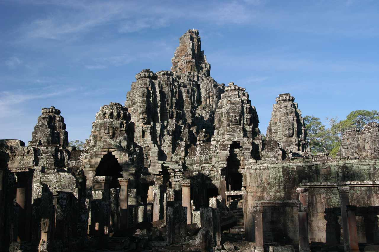 The impressive Angkor Thom