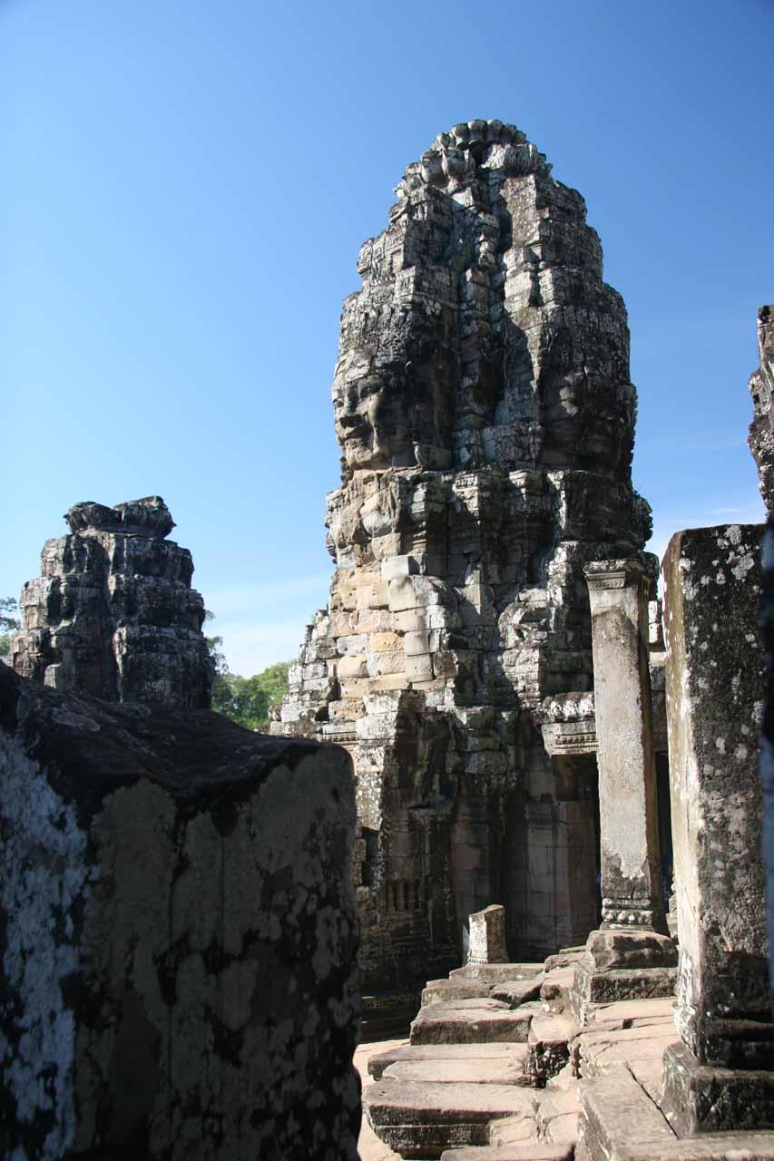 More views of a particular prang at Angkor Thom