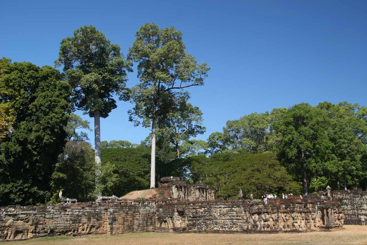 Angkor Thom outer wall