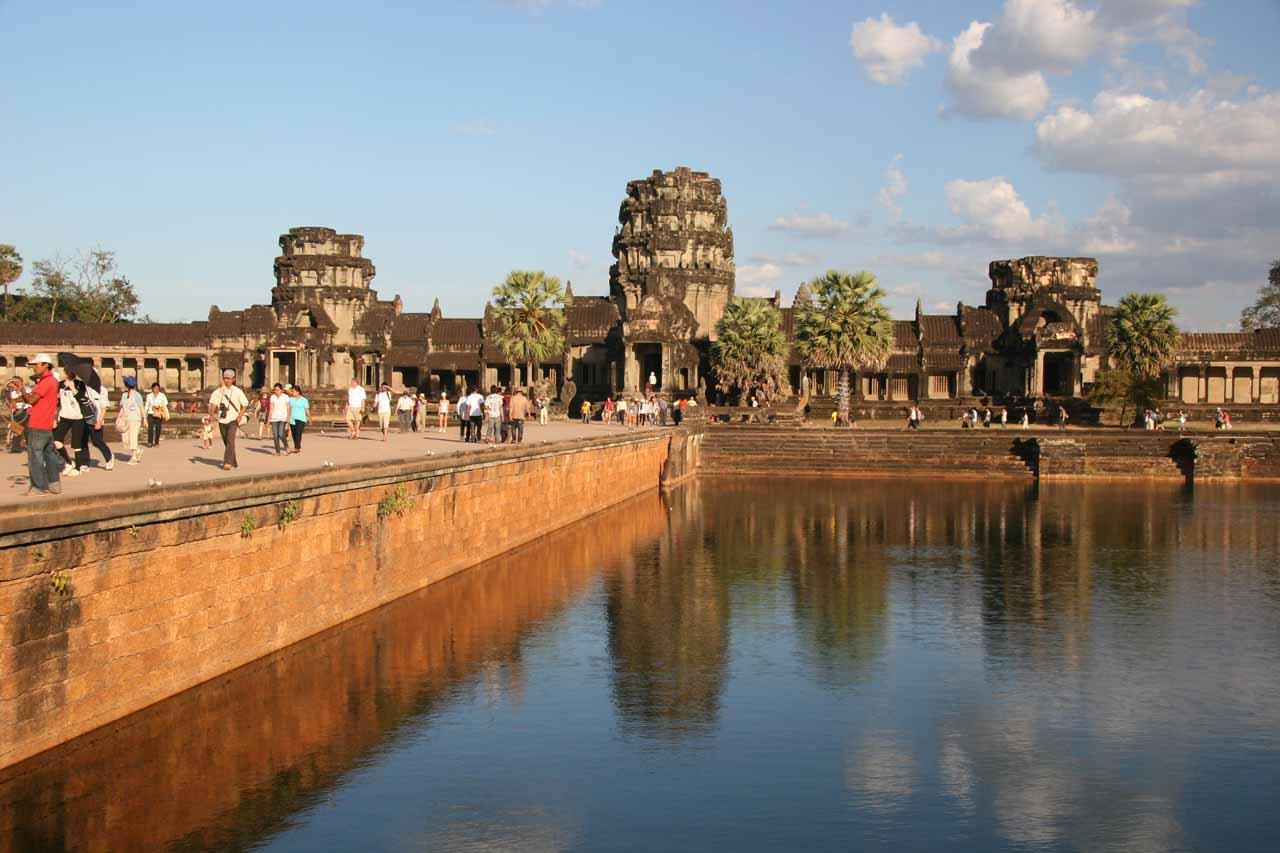 Angkor Wat moat area
