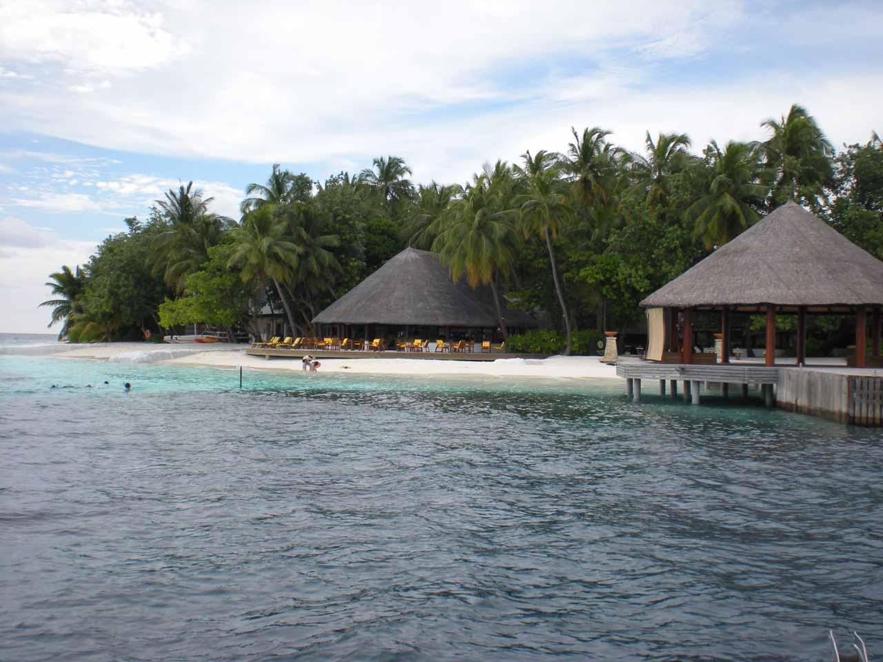 Approaching the Angsana Resort
