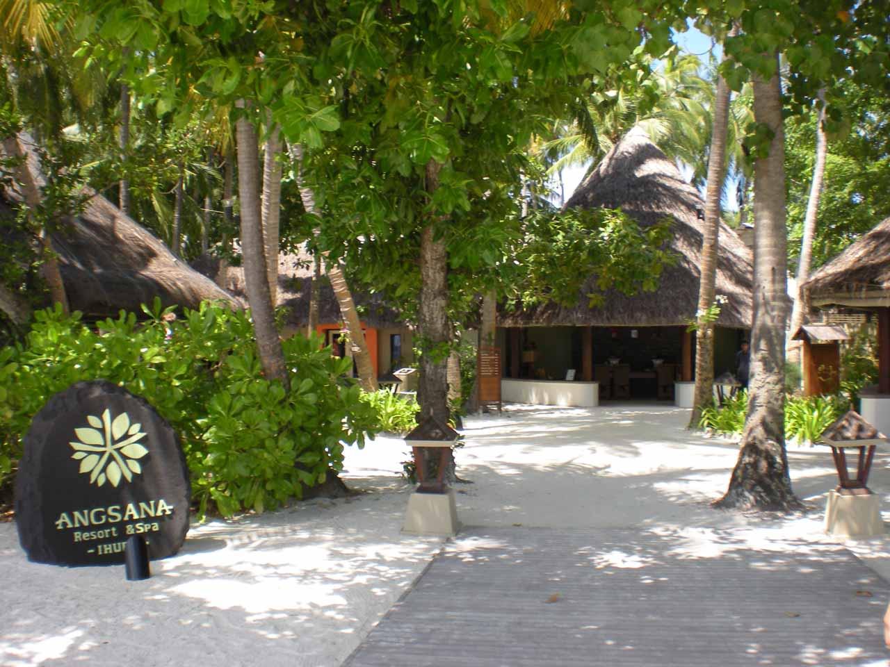 The Angsana Resort main area