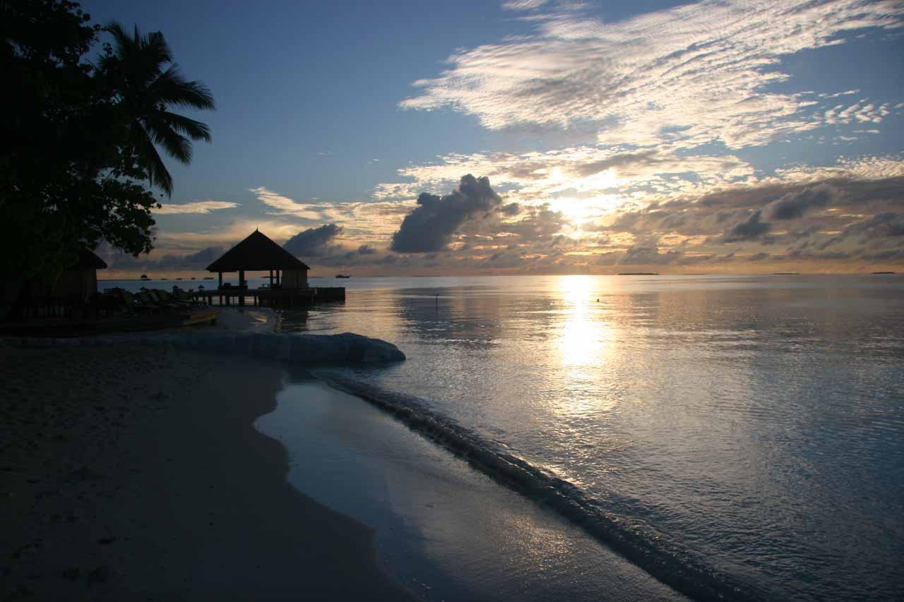 Sunrise at the Angsana Resort