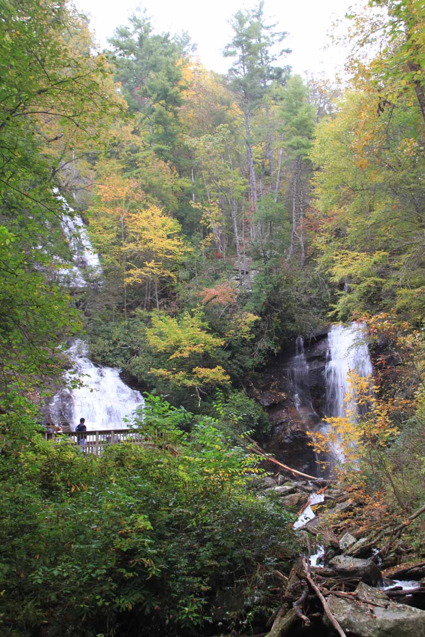 Another look at Anna Ruby Falls