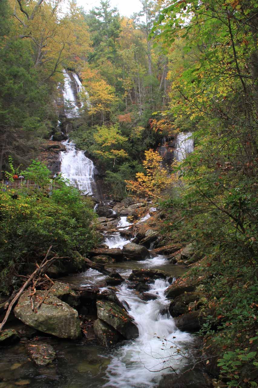 Last look at Anna Ruby Falls