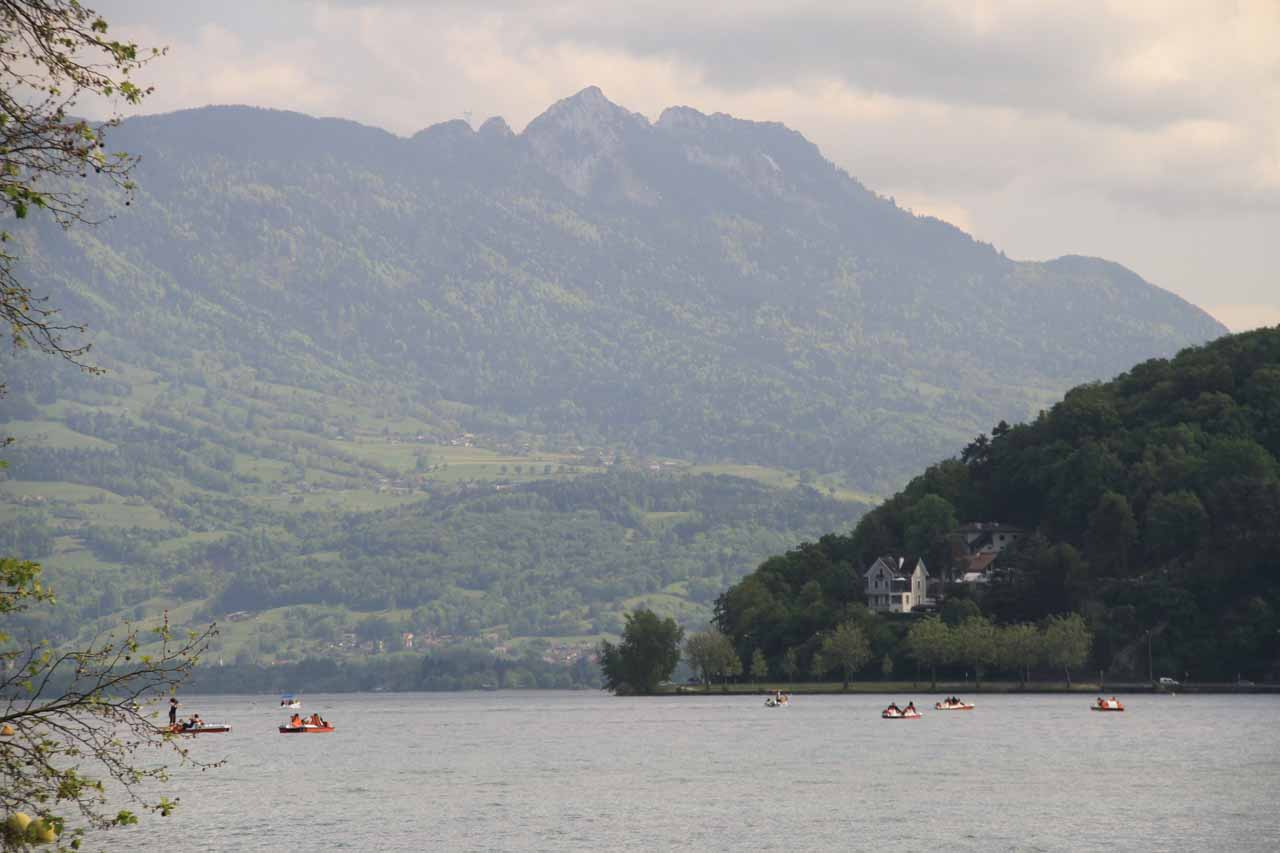 After visiting Saut de la Pucelle, we eventually made our way to Annecy with its beautiful lake and canals. It was quite possibly the surprise highlight of our trip to France in 2012