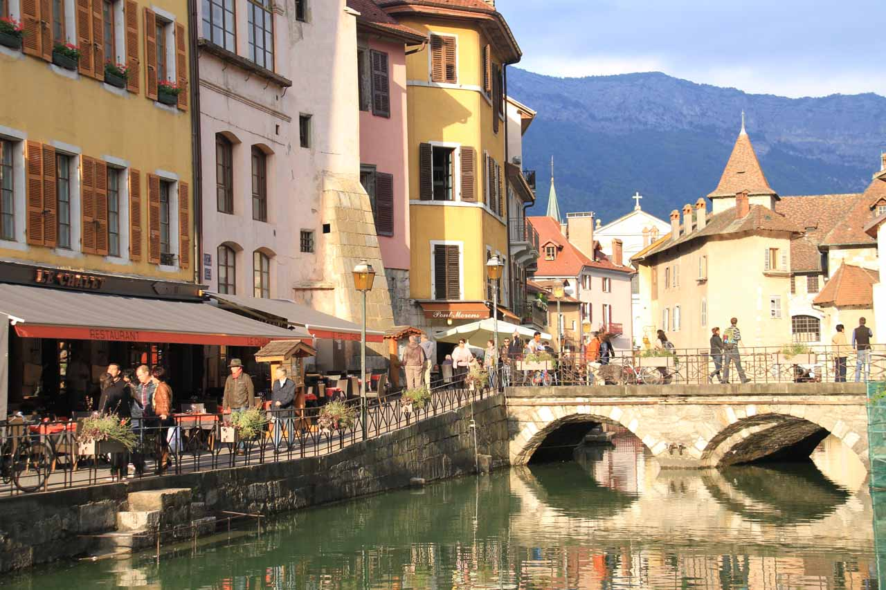 The charming canals of Old Annecy