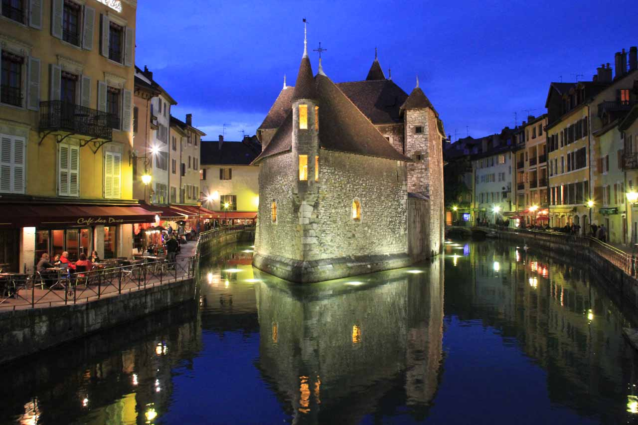 Julie and I spent a few nights amongst the canals of Old Annecy, and this was probably one of the biggest surprise highlights of our France trip in 2012