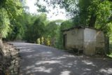 Anse_La_Raye_Falls_001_11282008 - Approaching the shack by the trailhead