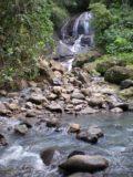 Anse_La_Raye_Falls_007_jx_11282008 - Looking back across the Anse La Raye Stream towards the waterfall as we headed back