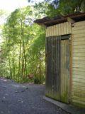 Anse_La_Raye_Falls_009_jx_11282008 - The trail to Anse La Raye Falls begins just past this side of the shack