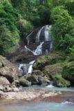 Anse_La_Raye_Falls_010_11282008 - Looking right up at the attractive Anse La Raye Falls