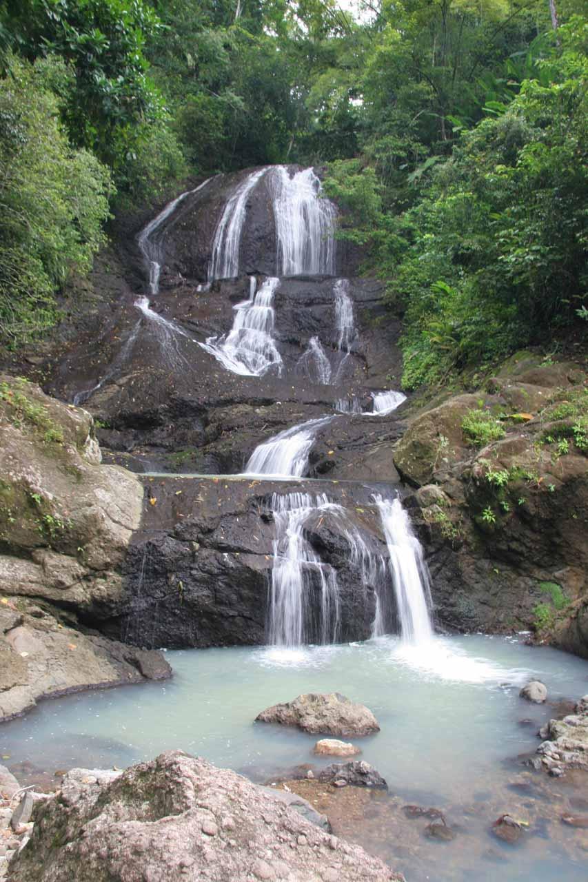 Another look at Anse La Raye Falls