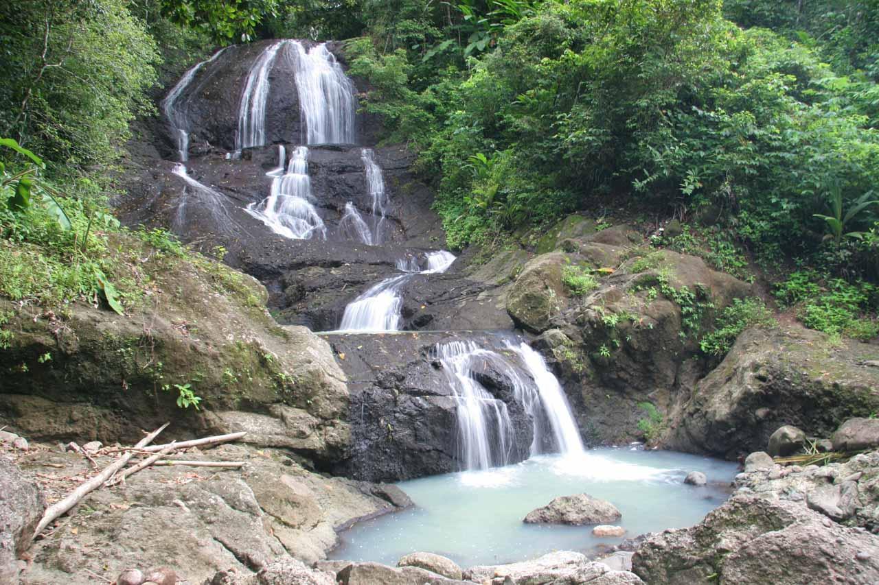 Anse La Raye Falls