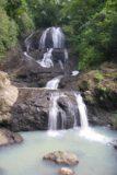 Anse_La_Raye_Falls_041_11282008 - Last look at the Anse La Raye Falls from right across its milky plunge pool