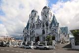 Apia_040_11122019 - Angled look at the frontside of the Immaculate Conception Cathedral in Apia