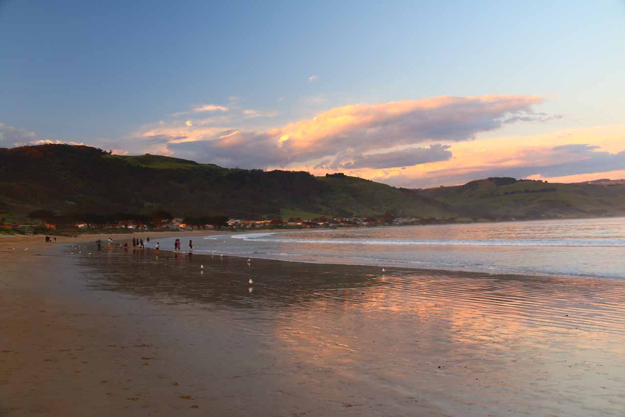 In each of our visits to Carisbrook Falls, we were based in the beach town of Apollo Bay, which was one of the popular yet quaint towns along the Great Ocean Road