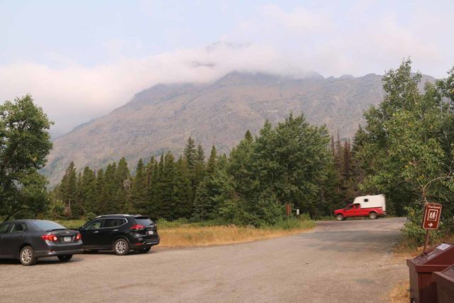 Appistoki_Falls_094_08082017 - Looking towards the entrance to the Scenic Point Parking Lot
