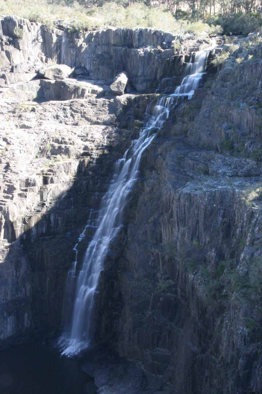Closer examination of the Upper Apsley Falls