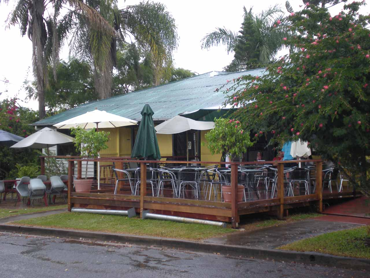 The place we bought some award-winning meat pies when we left Finch-Hatton