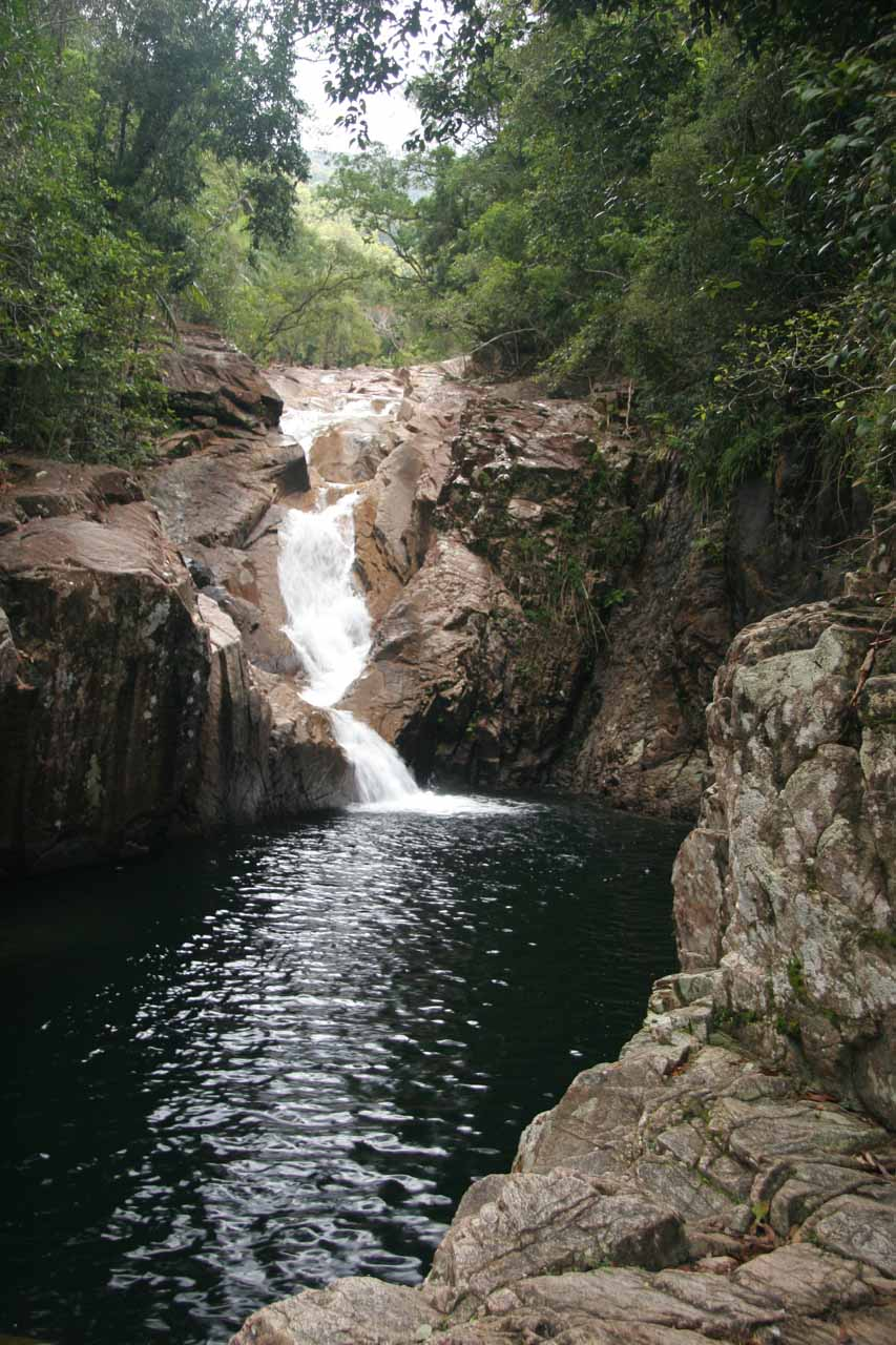 Our first look at the attractive Araluen Falls