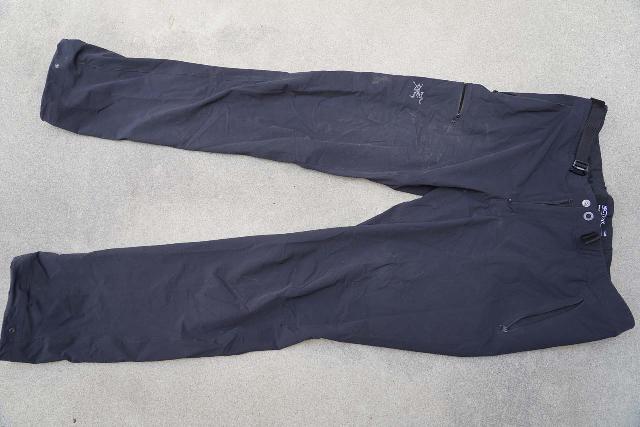 The Arc'teryx Gamma LT hiking pants