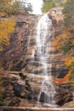 Arethusa_Falls_089_10022013 - Zoomed in look at just the Arethusa Falls in light Autumn flow