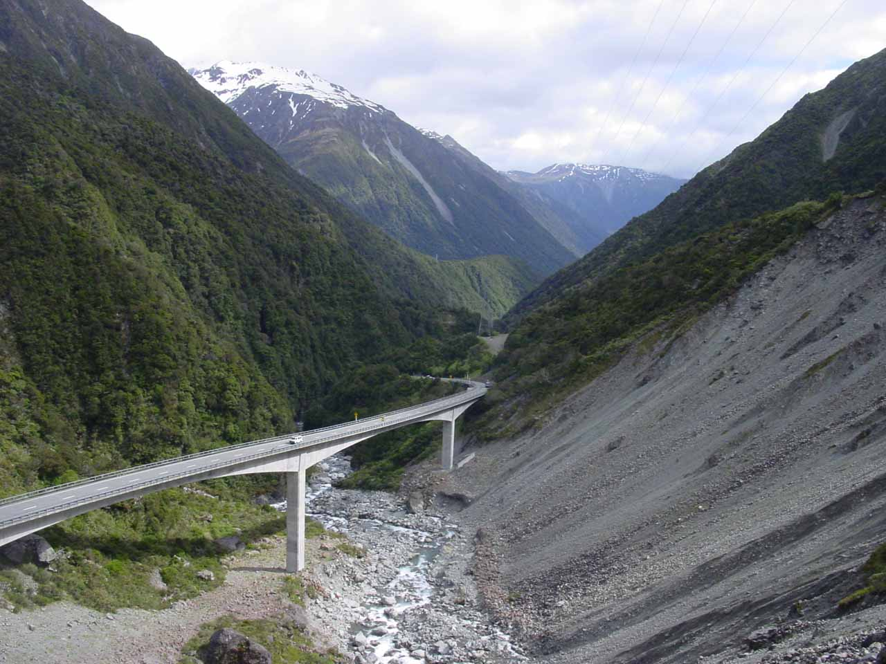 About 57km east of Kumara along the SH73 was the Otira Viaduct, which was an instrumental piece of engineering to make the traverse more reliable as a supply route between Christchurch and Greymouth