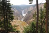 Artist_Point_17_041_08102017 - Framed view of Lower Falls of the Yellowstone River from Artist Point