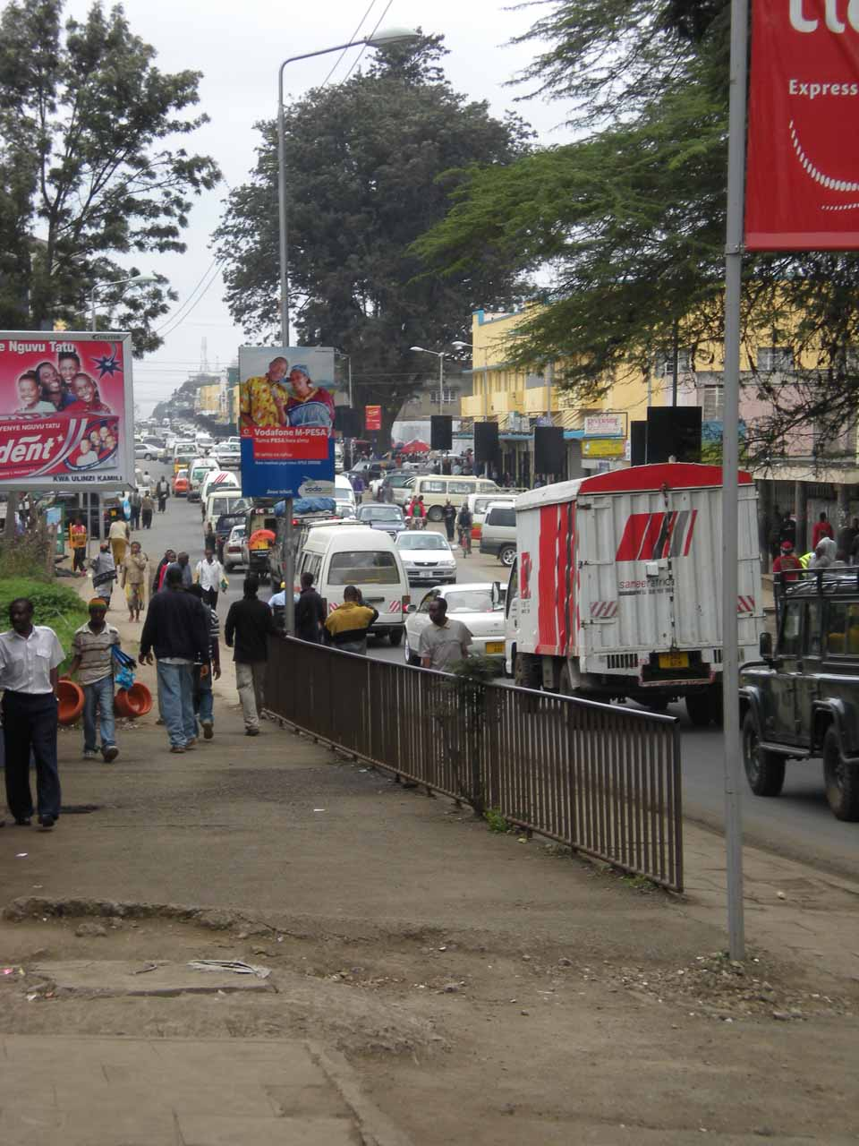 The busy city of Arusha