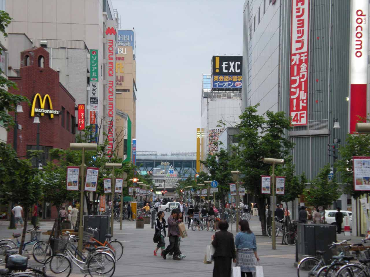 Walking the somewhat happening streets of Asahikawa