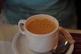 Ashland_004_06282021 - Julie's chai tea served up at Taj in Ashland, Oregon