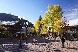 Aspen_019_10182020 - Julie approaching some pedestrianized street in Aspen