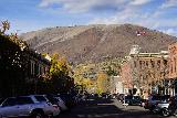 Aspen_021_10182020 - Looking north towards another historical-looking street in Aspen as we were making our way to the French Alpine Bistro