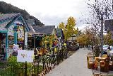 Aspen_043_10182020 - Walking along East Main Street after our filling meal at the French Alpine Bistro in Aspen