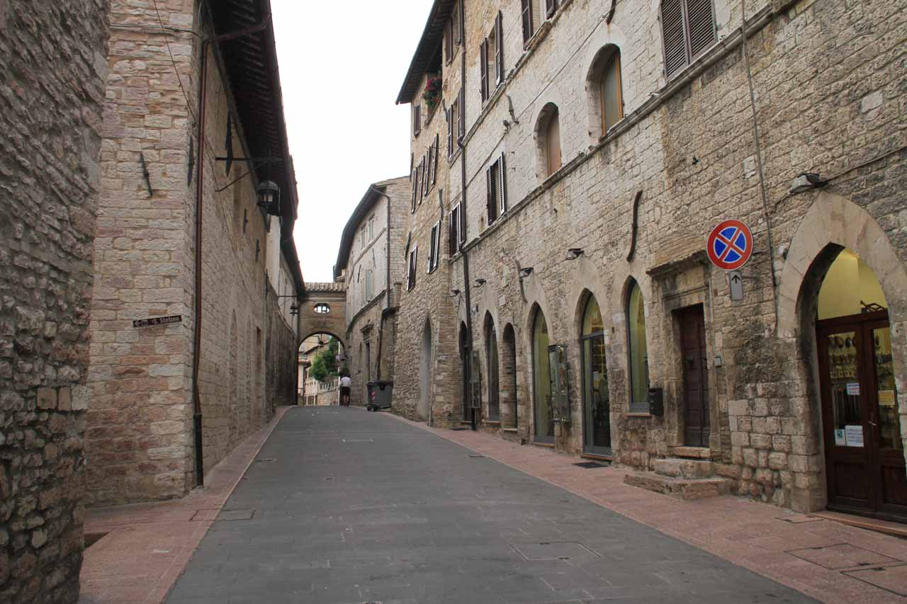 Still more charming walkways through the medieval town of Assisi