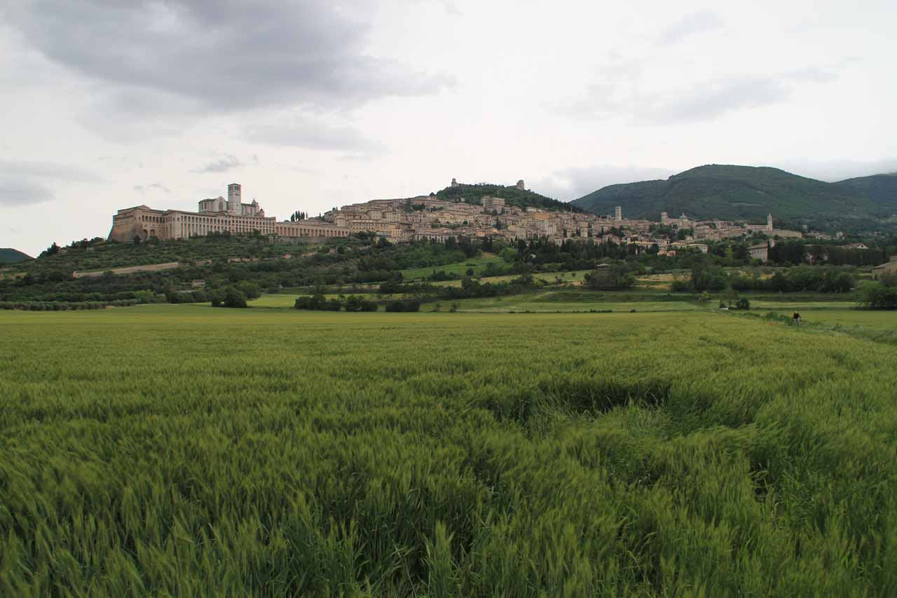 Full contextual view of Assisi