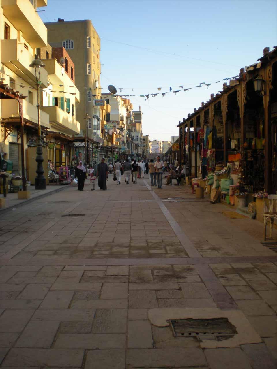 The bazaar in Aswan