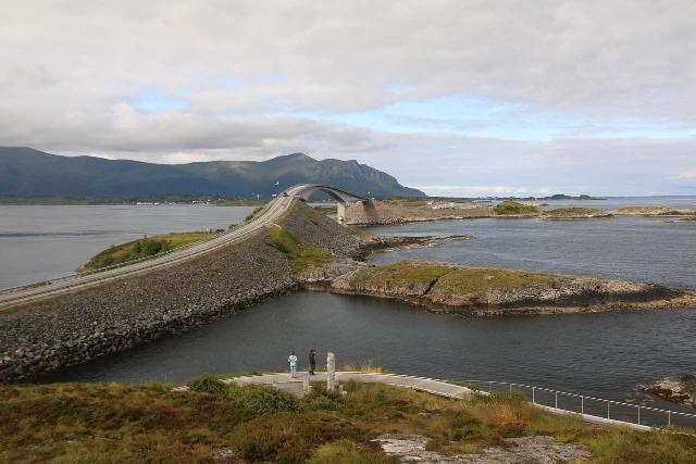 Atlantic_Ocean_Road_046_07152019 - Each time I've visited Nauståfossen, we've based our departure point from Sunndalsøra, which also acted as a launching point to pursue places like the island-hopping Atlantic Ocean Road near Kristiansund like what's shown here