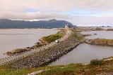 Atlantic_Ocean_Road_053_07152019 - Another look at the impressive Atlanterhavsvegen seemingly cutting between islands and over arched bridges