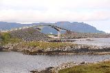 Atlantic_Ocean_Road_080_07152019 - Another look towards one of the impressive arched bridges on the Atlanterhavsvegen
