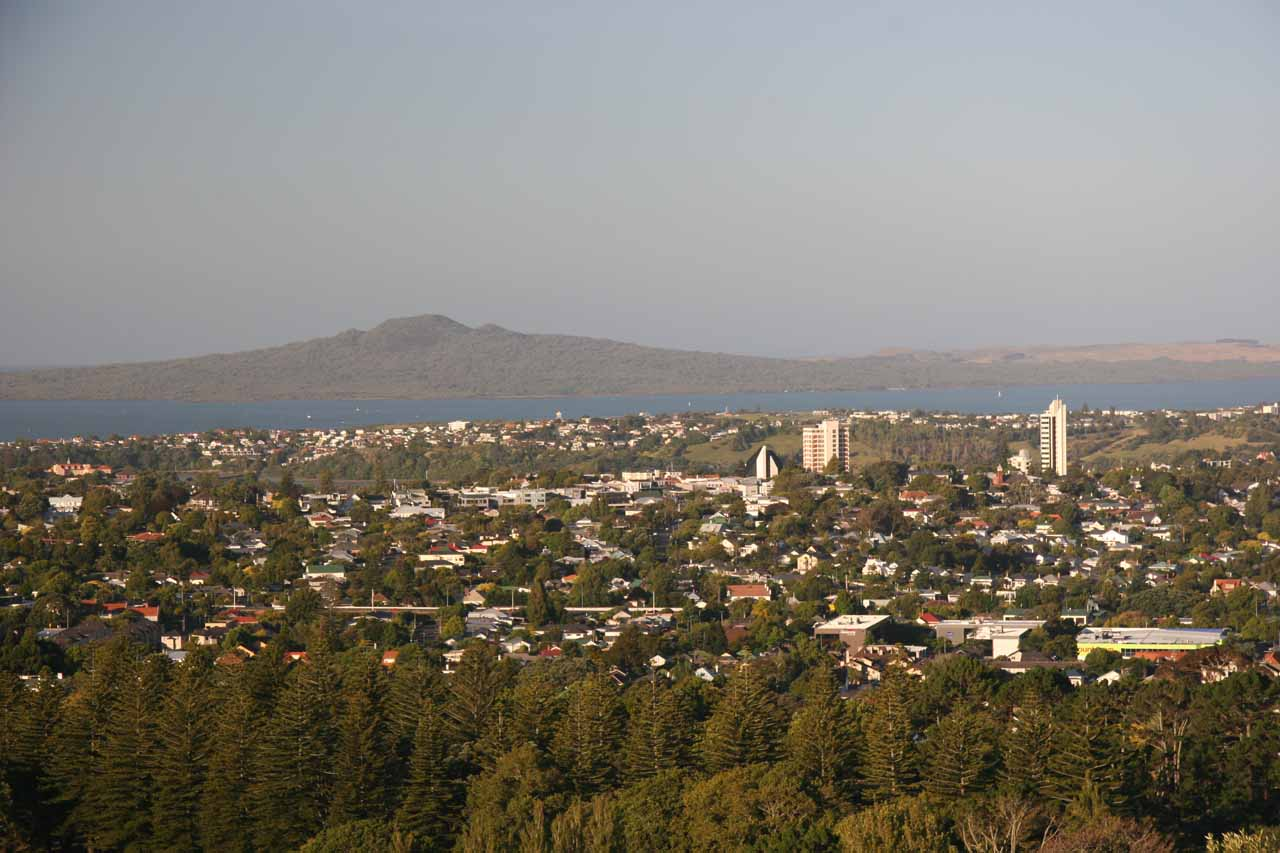 This view was looking to the east of Auckland from One Tree Hill, which was one landmark that left a lasting impression as we got commanding 360 degree views of the city and Manukau region