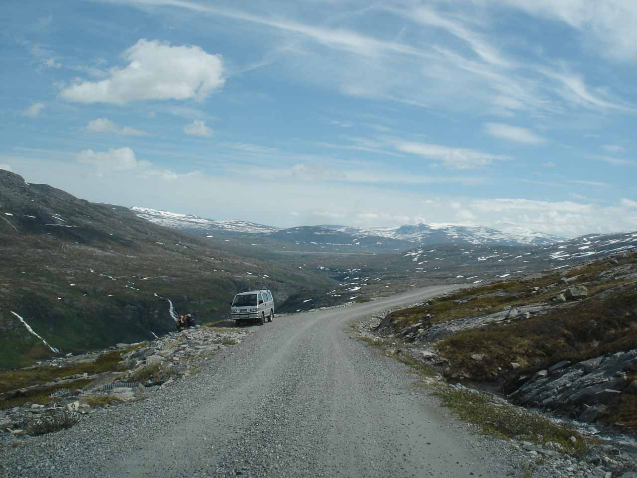 One last look back at the highland plateau above Eikesdalen before we descended back into the valley