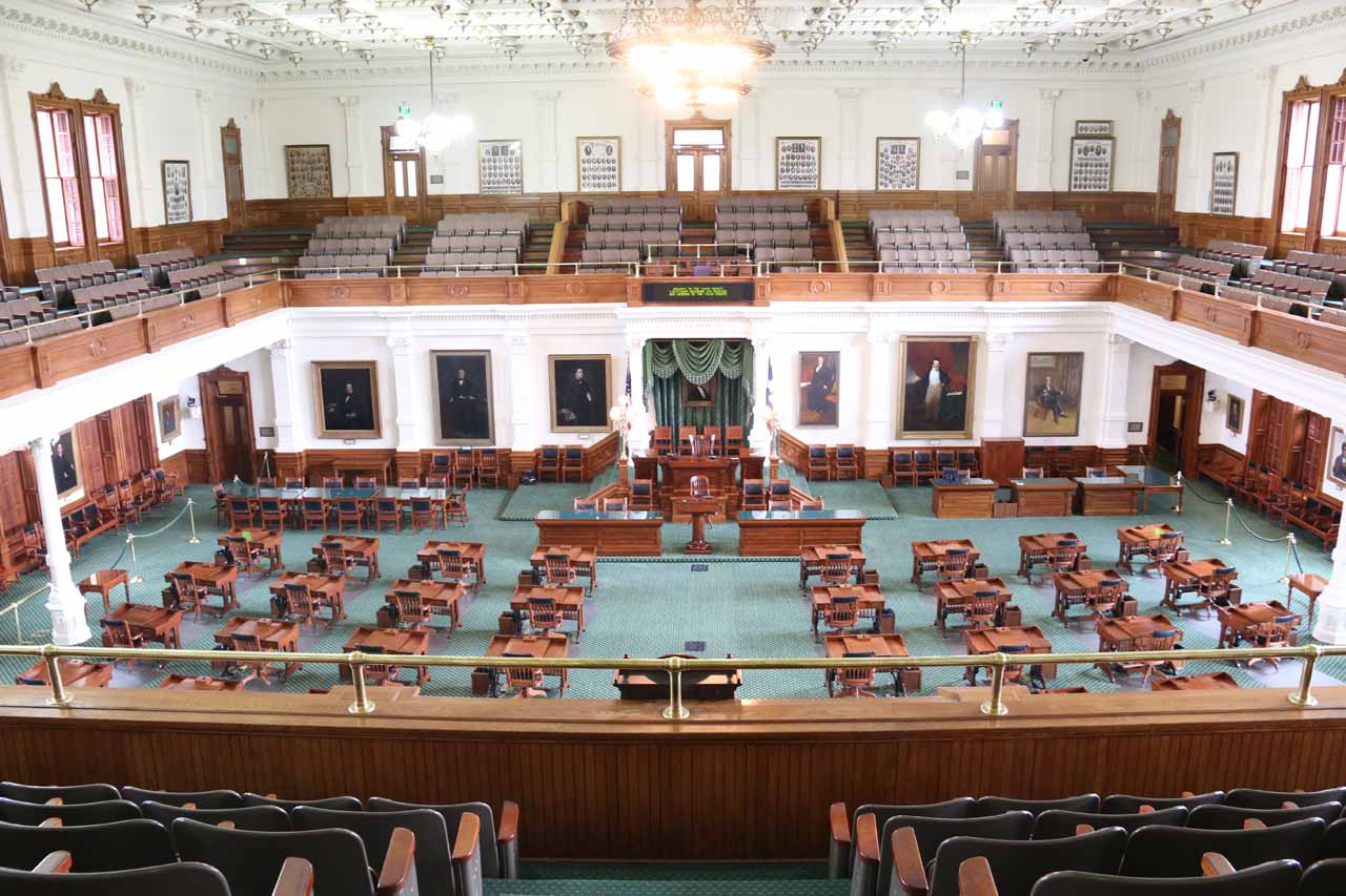 Since McKinney Falls State Park was within the Austin City Limits, it made sense to explore the city. One of the attractions was the State Capitol Building, which was very educational