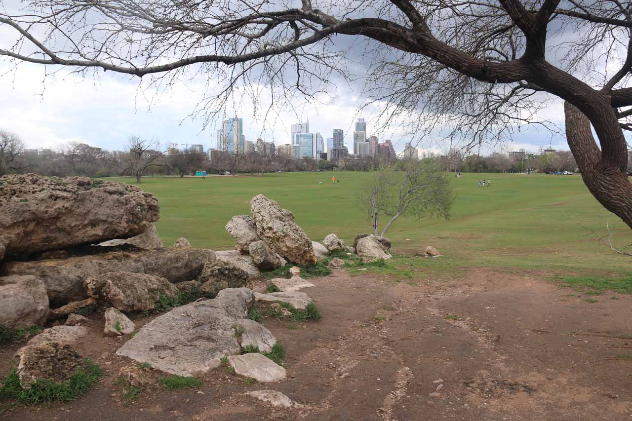 Although it was a bit of a long walk from downtown Austin, I found a lot of peace and relaxation in the extensive greenspace of Zilker Park