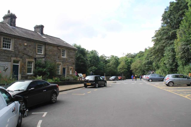 Aysgarth_Falls_045_08162014 - The car park for the National Park Centre and the Aysgarth Falls in the Yorkshire Dales National Park