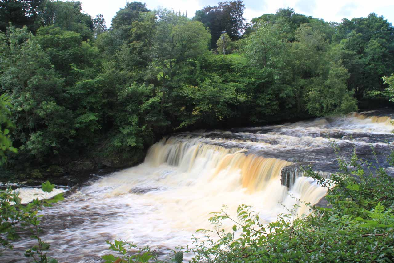 Looking across the Middle Aysgarth Falls