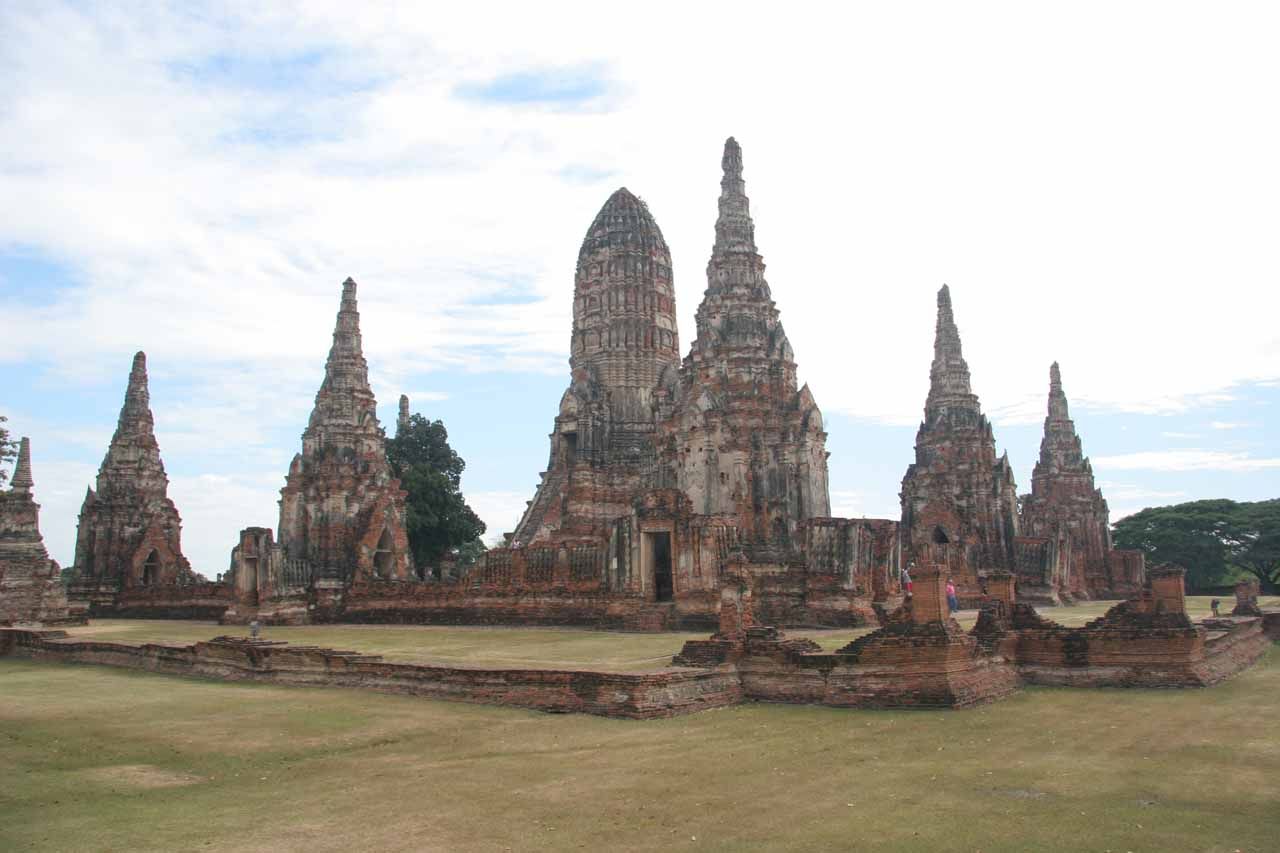 The first ruins we saw at Ayutthaya