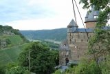 Bacharach_150_06162018 - Looking back down towards the entrance of the Burg Stahleck, which was off limits today due to a wedding